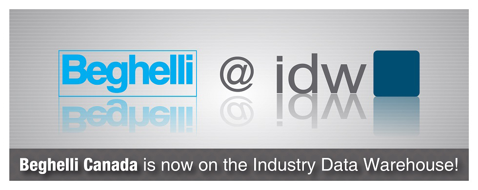 Beghelli Canada now listed on IDW announcement banner