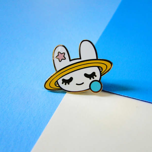 Pastel manta ray pins & sea angel pin